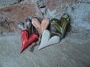 Dekorácie - Maličké srdcia - 3689580