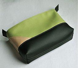 Tašky - zelený necesér - 3693232