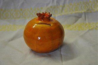 Dekorácie - Granátové jablko 2 - 3698306
