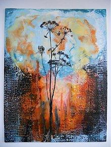 Obrazy - V plameňoch - 3703193