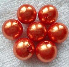 Korálky - GLANCE plast 14mm-1ks - 3704802