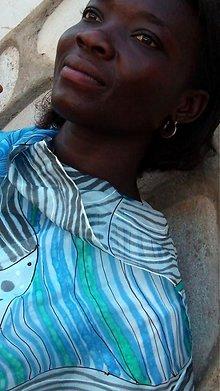 Šatky - AFRICA - hodvábna maľovaná šatka. - 3705438