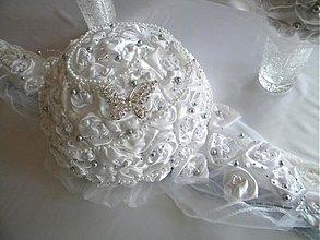 Dekorácie - Svadobná výzdoba na stôl - 3706341