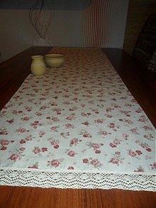 Úžitkový textil - Obrus Romantik - 3708726