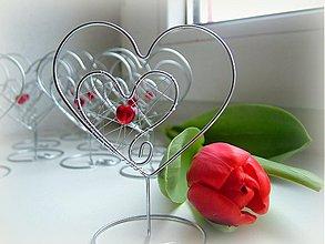 Darčeky pre svadobčanov - stojany na menovky, či na fotky ;) - 3709473