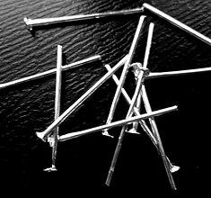 Komponenty - Ketlovací nit-postriebrený - 3710330