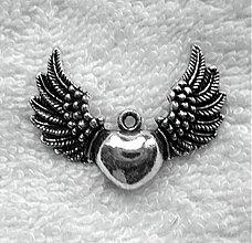 Komponenty - KPrív-srdce s krídlami - 3711182