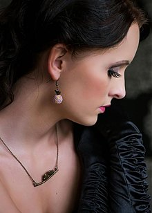 Sady šperkov - Pastel birds - set - 3711427