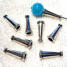 Komponenty - Koncovka 6x15mm-1ks (platina) - 3713382
