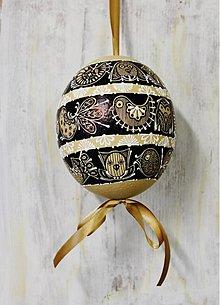 Dekorácie - Pštrosie maľované vajíčko /na zákazku - 3715014