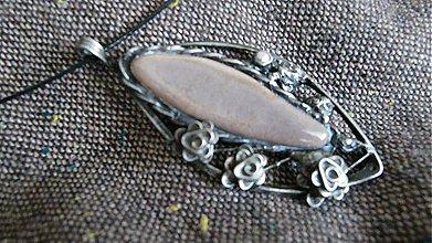 Náhrdelníky - Keramický šperk K01_S - 3719841