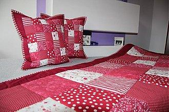 Úžitkový textil - celý  set za super cenu DEKA +2 X VANKÚŠ - 3720554