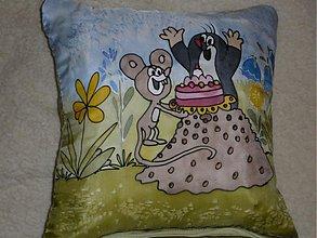 Úžitkový textil - vankúšik zvieratká - 372200