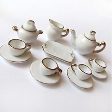 Polotovary - Dolly Porcelain (/ WhiteGold) - 3723863