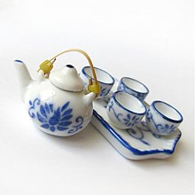 Polotovary - Dolly Porcelain (/ WhiteBlue) - 3724192