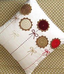 Úžitkový textil - perzská lúka na snehovej perine... - 3724875