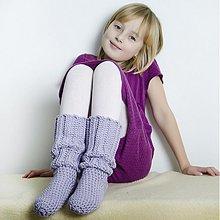 Topánočky - podkolienky či papučky - 3729758
