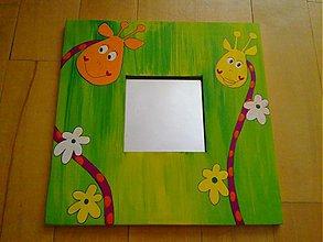 Zrkadlá - ZRKADLO-žirafky - 374495