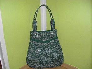 Veľké tašky - Tapeta-zelená - 376701