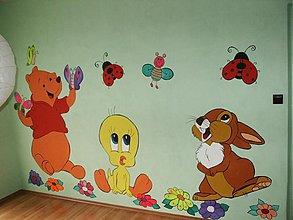 Kresby - Rozprávková stena - 40159