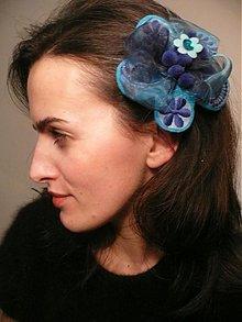 Ozdoby do vlasov - modrejšia než modrá by HOGO FOGO - 411893