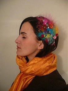 Ozdoby do vlasov - spona wild colorico by HOGO FOGO - 411903