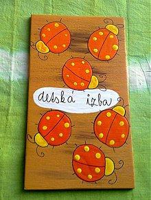 Tabuľky - menovka na dvere -DETSKÁ IZBA - 420357