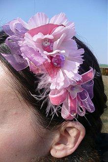 Ozdoby do vlasov - živé kvety by HOGO FOGO - 425160