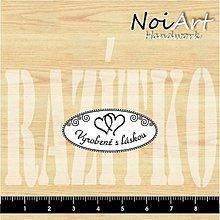 Nezaradené - Razítko Vyrobené s láskou 1 - 432020