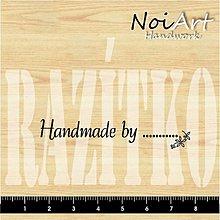 Nezaradené - Razítko Handmade 1 - 432135