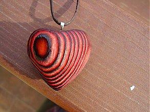 Náhrdelníky - vášnivé Srdce - 432583