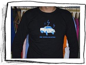 Tričká - Nad Tatrou sa blýska 01 dlhý rukáv – S veľkosť / SALE - 4326