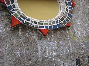 Zrkadlá - zrkadlo mozaika - 438501