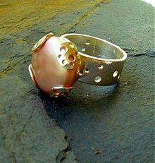 Prstene - Jahodový koláčik - 441179