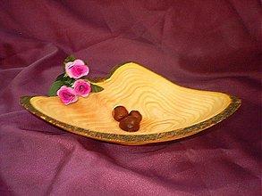Nádoby - Plytká misa Srdce na dlani/objednávka - 44185