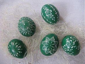 Dekorácie - Kraslica zelená - 441946