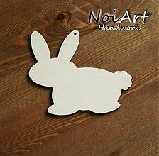 Materiál ručne robený - Zajac - predloha na ďalšiu tvorbu - 446858