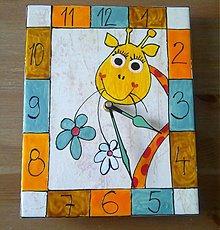 Hodiny - HODINY - žirafkové - 449995