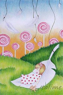 Kresby - v  ríši jahodových lízaniek - 458976