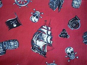 Textil - Pirátska odysea-posledný kus - 460730