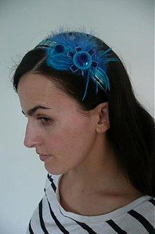 Ozdoby do vlasov - silver-blue by HOGO FOGO - 463864