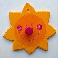 Nábytok - slniečkový vešiačik... - 47941