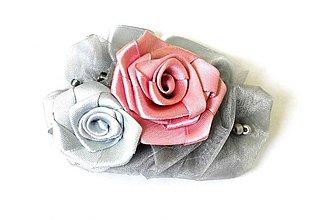 Ozdoby do vlasov - Popol z ruží-spona - 486912