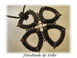 Náhrdelníky - Winter flower - prívesok - 4872