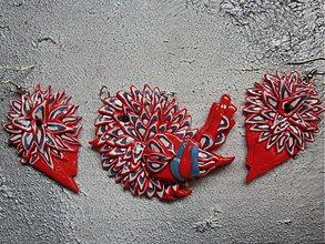 Sady šperkov - Našuchorený vrabček - 487355