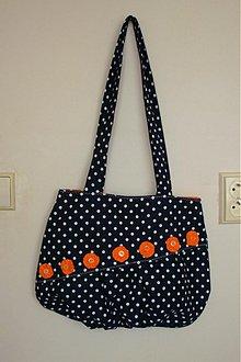 Veľké tašky - Dotted - Orange - veľká taška - 493921