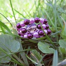 Prstene - Iba fialový - 496341