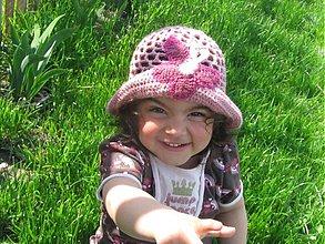 Detské čiapky - Letný klobúčik - 499987