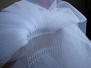 Ozdoby do vlasov - svadobný závoj - 501246