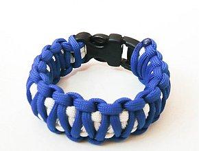 Náramky - Paracord Survival Bracelet   dvojitá kobra - 507660